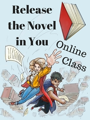 Release the Novel in You online class for Webpat