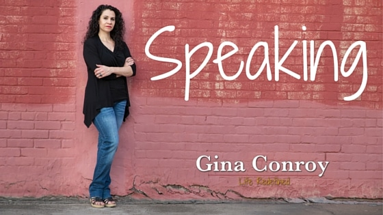 Author Gina Conroy Speaking