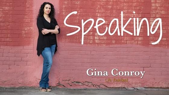 Author Gina Conroy Speaking